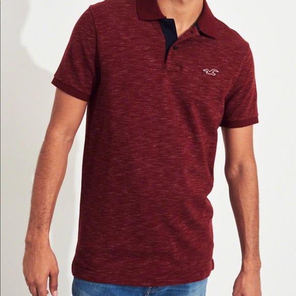 76fea451 Hollister Shirts | Stretch Slim Fit Polo | Poshmark
